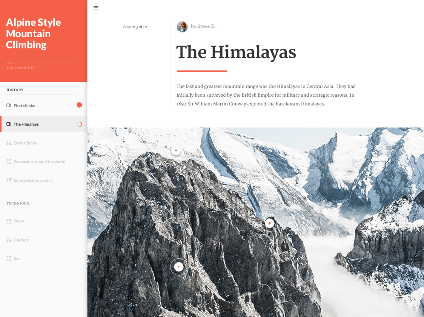 The Himalayas